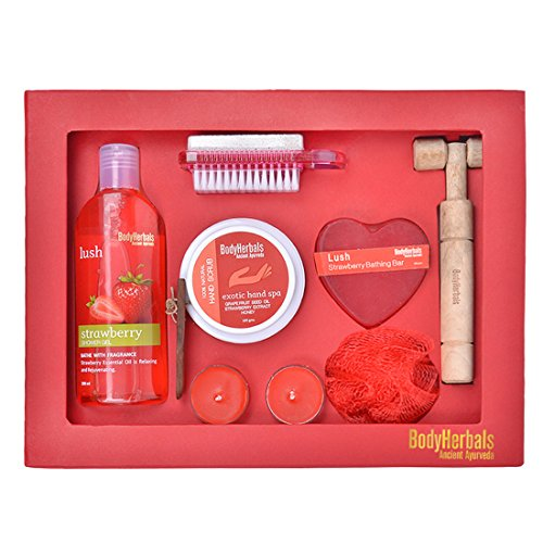 bodyherbals strawberry essentials gift set (gifting idea for all occasions birthday, anniversary, wedding, beauty, personal care, and bath kits BodyHerbals Strawberry Essentials Gift Set (Gifting Idea for all Occasions Birthday, Anniversary, Wedding, Beauty, Personal Care, and Bath Kits 51I7 2BxNfXBL