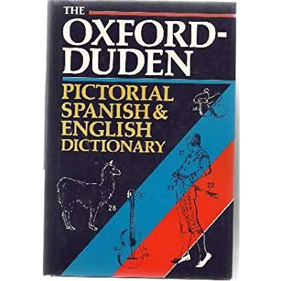The Oxford-Duden Pictorial Spanish-English Dictionary PDF