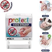 Protect Kids Stamp / Aprende jugando a mantener tus manos limpias para acabar con los virus