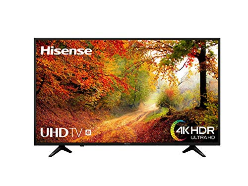 Hisense H50A6140 - Smart TV VIDAA U, Super Contraste, Precision Color, Depth Enhanced, Remote Now, Procesador Quad Core.