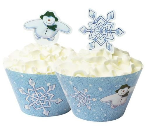 raymond-briggs-the-snowman-cupcake-wrappers-picks-x-12