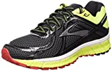 Brooks Adrenaline Gts 16 M Scarpe da corsa, Uomo, Multicolore (Black/Nightlife/High Risk Red), 44.5