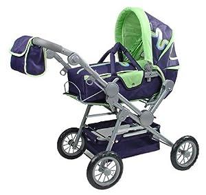 KNORRTOYS.COM Knorr 10887 Twingo S - Cochecito de bebé de Juguete, Color Azul