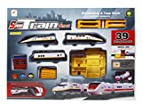 #8: Fusine™ Premium Speed Train Game Set With Tracks and Miniatures