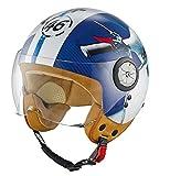 Held Mc Corry Scooter Motorradhelm Größe: M (57cm-58cm) Jethelm