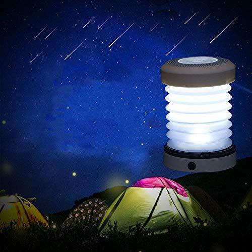 LIULINUIJ Portable Night Light Outdoor Led Telescopic Spring Convenient Camping Folding Tent Lights Lantern Lamps