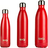 YOUR Bottle! von SHO 750ml (Scarlet Red) - 5