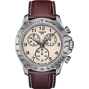 Tissot Reloj Cronógrafo para Hombre de Cuarzo con Correa en Cuero T1064171626200