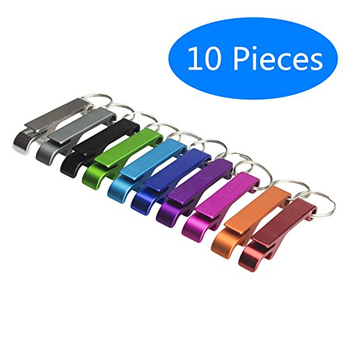 r Flaschenöffner Schlüsselbund Cartoon Mini Flaschenöffner Schlüssel Sammler EDC Taschen-Schlüsselanhänger-lustiges Geschenk (Klassisch) ()
