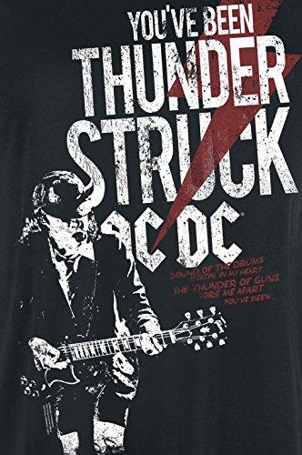 AC/DC Thunderstruck Girl-Shirt schwarz Schwarz