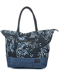 Rip Curl Zephyr Shopper Bolsas de tela y de playa, 52 cm, 30 litros, Negro