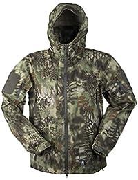 Mil-Tec Men's Hardshell Breathable Jacket Mandra Wood