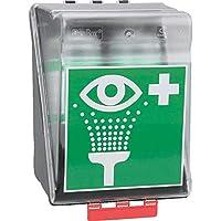 SecuBox® Maxi Augenspülstation, mit 2 x 1000 ml PLUM Augenspülflaschen, mit PRÜFPLAKETTE