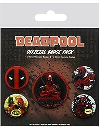 Deadpool Badge Pack Lote de chapas