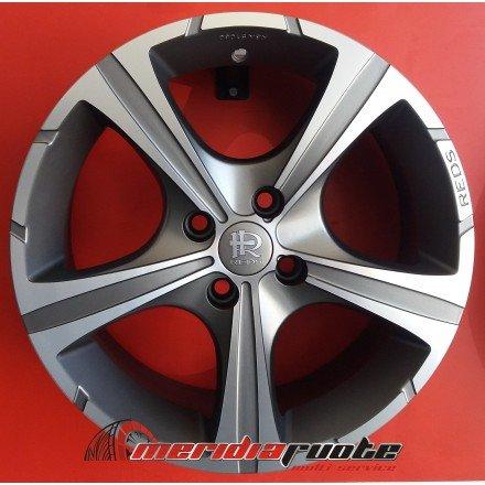 Momo Reds Black Knight - 7X16 ET45 4X100 Alufelgen, PKW