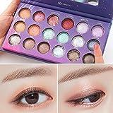 ❤️Kosmetische Matte | Kosmetische Lidschatten Creme | Augenschatten Makeup Eyeshadow Palette | Perlisierter Lidschatten | Schimmer Set | 18 Eyeshadows Flawless Palette