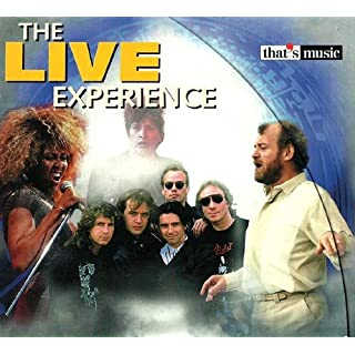 Big Live Hits (CD Compilation, 16 Titel, Diverse Künstler) Tina Turner - Addicted To Love / Marillion - Lavender / Carly Simon - You're So Vain / Frank Boeijen Group - Kronenburg Park / Take That - Why Can't I Walk Up With You u.a.
