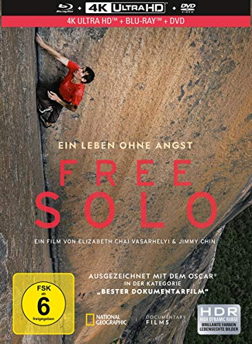 Free Solo - 4-Disc Limited Collector s Edition Mediabook (4K Ultra HD) (+ 2 Blu-rays) (+ DVD)
