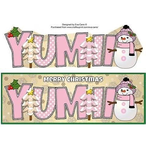 Carcasa de tamaño grande de muñeco de nieve YUMII dl por Eva Cano