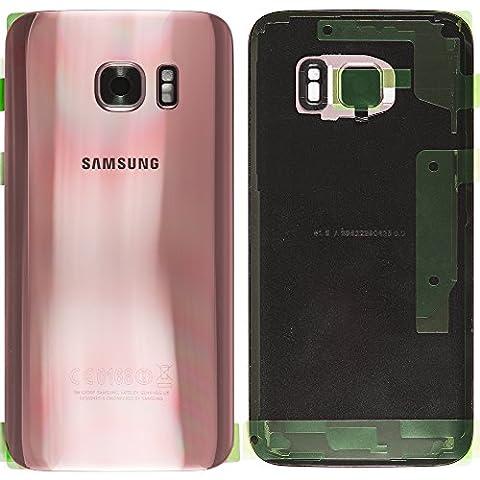Original Samsung Akkudeckel pink für Samsung G935F Galaxy S7 EDGE - (Akkufachdeckel, Batterieabdeckung, Rückseite, Back-Cover) -