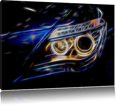 Dark BMW Angeli, pittura su tela, enorme Immagini XXL completamente Pagina con la barella, stampe d'arte su murale con telaio, più economico di pittura o pittura ad olio, nessun manifesto o poster dimensioni: 120x80 cm