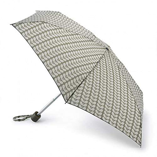 Orla Kiely Kiely Tiny 2 Solid Stem Parapluie Pliant, 15 cm, 1 liters, Multicolore (Solid Stem)