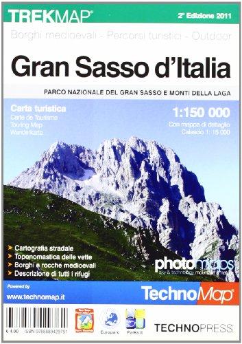 Gran Sasso d'Italia. Carta turistica 1:15.000 por AA.VV.