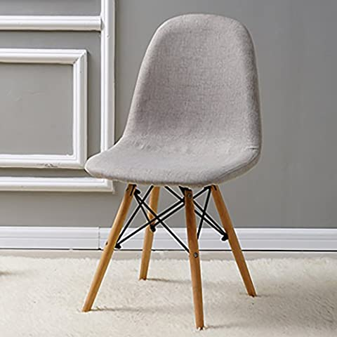 Cdblchandelier Chair Tissu Chaise Chaise Armure Chaise Tabouret Simple Européenne
