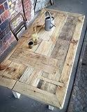 Esstisch aus Bauholz Susanne 180 x 96 cm
