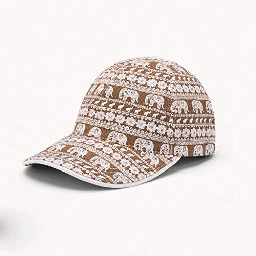 SLH Gorras de béisbol de los Elefantes de la Moda de los...