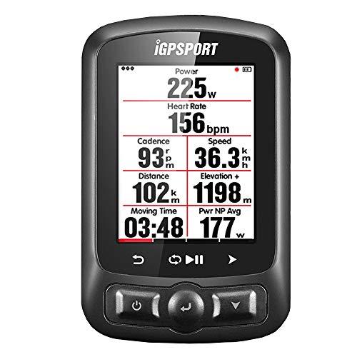iGPSPORT iGS618 (versión española) - Ciclo computador grabador datos y rutas GPS+GLONASS+Beidou....
