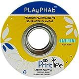 3D Printlife PLAyPHAb 1,75mm Turquoise PLA/PHA Mischung 3D-Drucker Filament, Maßhaltigkeit <+/- 0,05 mm, Turquoise - gut und günstig