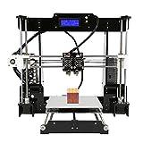 Uniqstore Anet A8 M DIY 3D Printer Kit Dual Nozzles Online & Offline Printing 40-120mm Doppelte Farben, die Prusa drucken