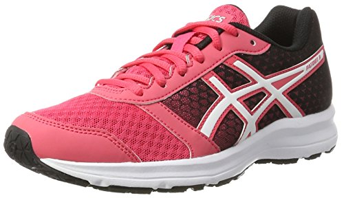Asics Damen Patriot 8 Laufschuhe, Pink (Rouge Red/White/Black), 37 EU