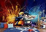 AJ WALLPAPER 3D Naruto 363 Japan Anime Fond d'écran Mur Peintures Murales Amovible Peinture Murale | Auto-adhésif Papier Peint FR Summer (Papier tissé (Besoin de Colle), 【123'x87'】 312x219cm(WxH))
