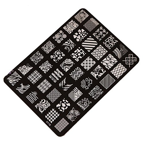 Nail Stamping Plates Oyedens Clavo Que Estampa La Impresora Sellos Placa Placas De Estampacion Nail Art De La Imagen Del Clavo De La DecoracióN Del Arte De La Manicura Sello Para Las UñAs