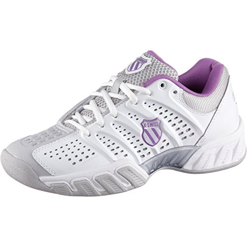 K-swiss Performance Kw Tfw Bigshot Scarpe Da Tennis - Blanc / Gris / Violet