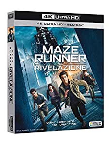 Maze Runner - La Rivelazione (Blu-Ray 4K UltraHD + Blu-Ray)