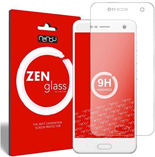 nandu I ZenGlass Flexible Glas-Folie für ZTE Blade V8 Panzerfolie I Bildschirm-Schutzfolie 9H I (Kleiner Als Das Gewölbte Bildschirm)