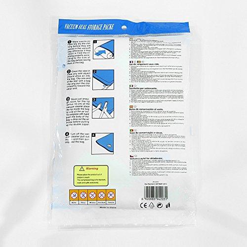 Neue platzsparende Lagerung Seal Seal Vakuumbeutel komprimiert Organizer Bag 50 * 60 cm