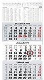 2020 3-Monatskalender Bürokalender Wandplaner 450x235 mm Dreimonatskalender NEU