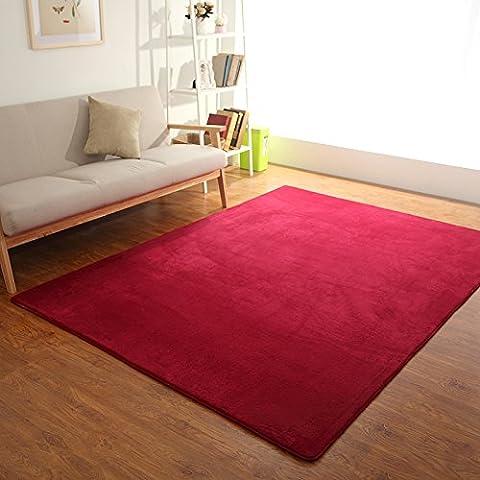 Home continental soggiorno con semplici e moderni divani stile 'pouf' le camere da letto sono pieni di negozi tatami letto tappeti personalizzati ,160*230 cm oltre Mats , Vino rosso