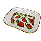 Inaaya Single Tray For Kitchen & Dining Use Tray To Serve Tea Coffee, Namkeen, Biscuits, Choclates Small Tray, Multicolor, 30 Grams, Pack Of 1