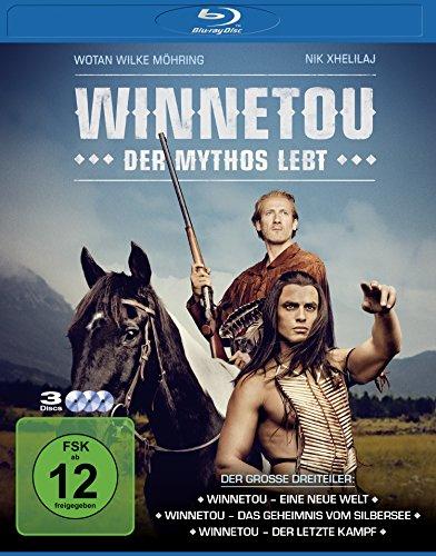 Winnetou - Der Mythos lebt [Blu-ray] Lippenstift-video-kameras