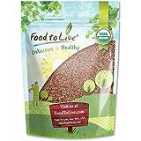 Food to Live Graines De Radis Organiques Pour La Germination (8 Onces)