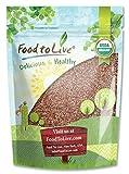 Food to Live Semillas de rábano Bio certificadas para brotar (Eco, Ecológico, Kosher) – 8 onzas