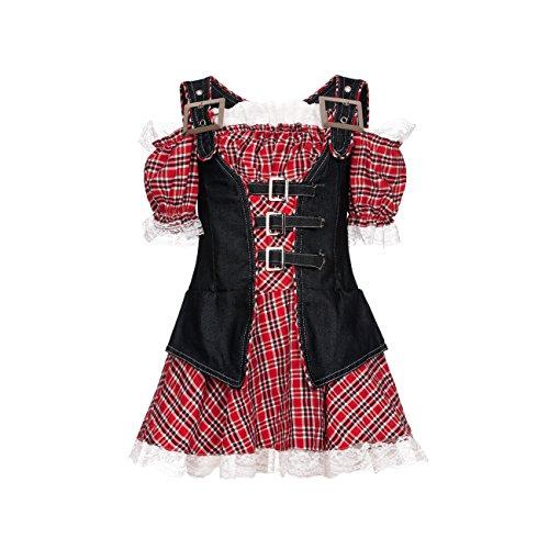 Kostümplanet® Cowgirl-Kostüm Mädchen Cowboy Kinder Kostüm Faschingskostüme Größe 152 (Cowboy Mädchen Kostüm)