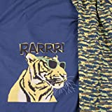 Safari Tiger Hilco blau Panel Stretch Jersey Rapport