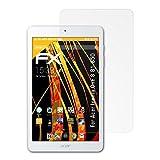atFolix Schutzfolie für Acer Iconia One 8 (B1-850) Displayschutzfolie - 2 x FX-Antireflex blendfreie Folie