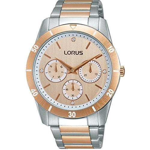 Lorus by Seiko RP602CX9 Ladies Rose Gold and Steel Watch